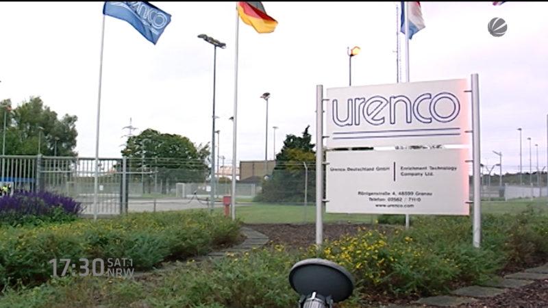 Remmel will Urenco schließen lassen (Foto: SAT.1 NRW)