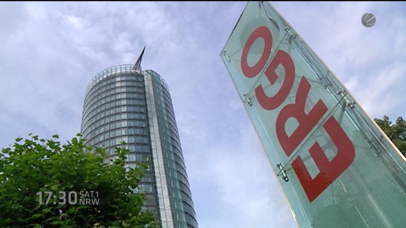 Ergo will 1800 Jobs streichen (Foto: SAT.1 NRW)