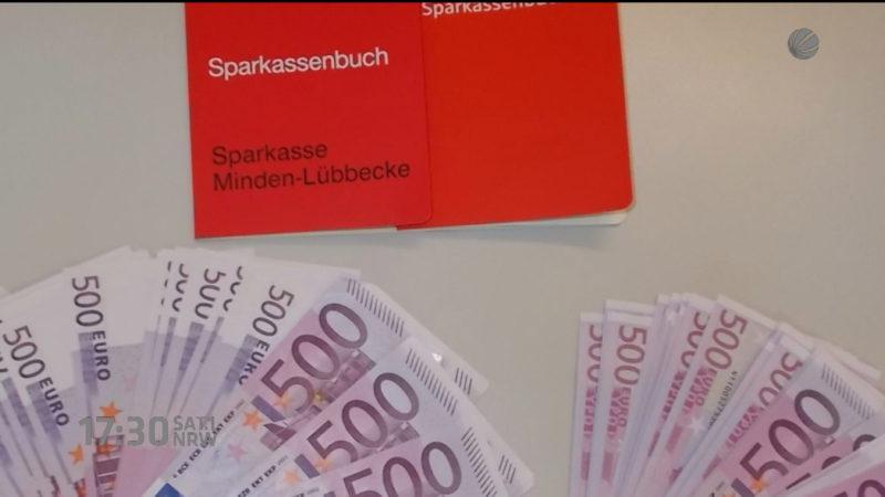 Flüchtling findet 50.000 Euro (Foto: SAT.1 NRW)