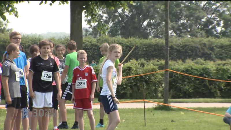 Sportabzeichen-Tour in Xanten (Foto: SAT.1 NRW)