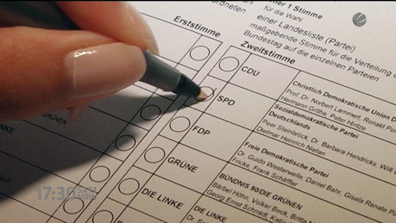 Streit um Wahlrecht für 16jährige (Foto: SAT.1 NRW)