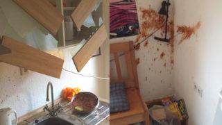 Mieter zerstört Wohnung (Foto: Privat)