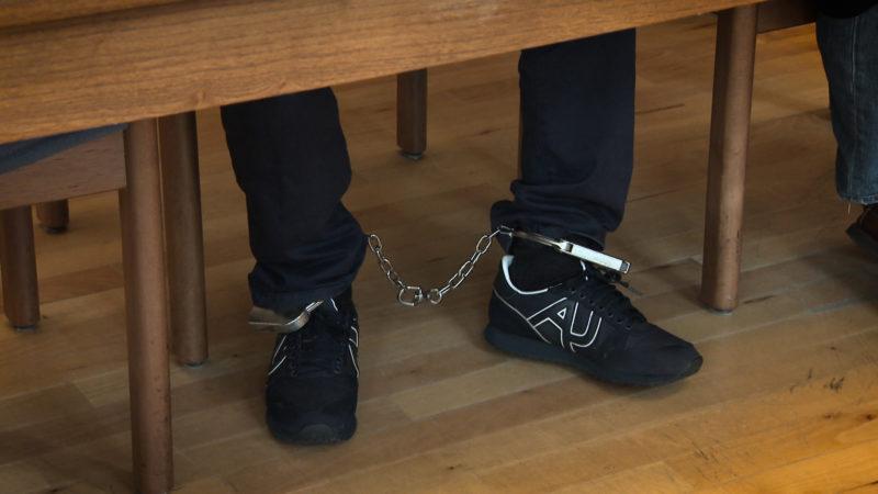 Ausbrecher vor Gericht (Foto: SAT.1 NRW)