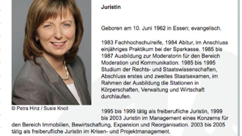 Verfahren gegen Hinz (Foto: Bundestag)