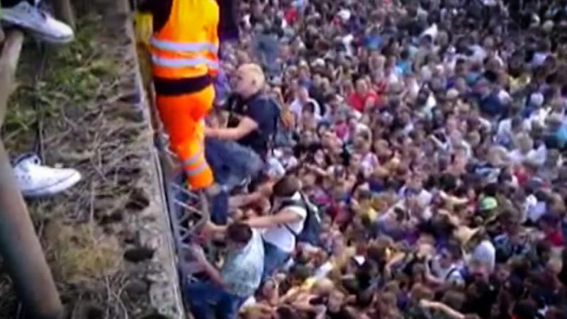 Loveparade-Hinterbliebene schockiert von möglichem Prozess-Aus (Foto: SAT.1 NRW)