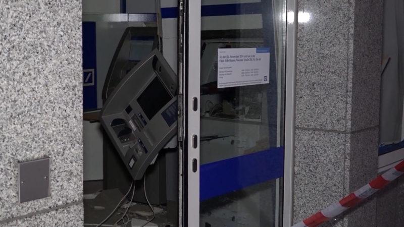 Video zeigt Automatengangster in Köln (Foto: SAT.1 NRW)