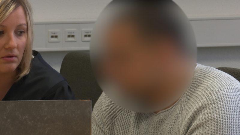 Bankräuber vor Gericht (Foto: SAT.1 NRW)