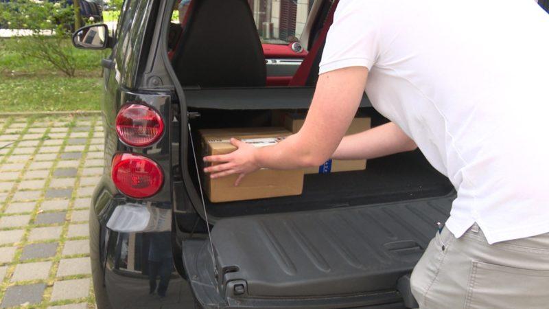 Pakete in Smart liefern? (Foto: SAT.1 NRW)