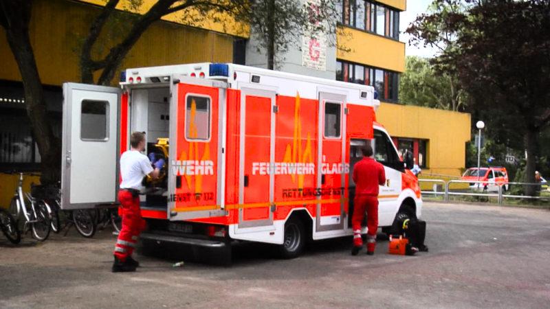 Schüler durch Reizgas verletzt (Foto: SAT.1 NRW)