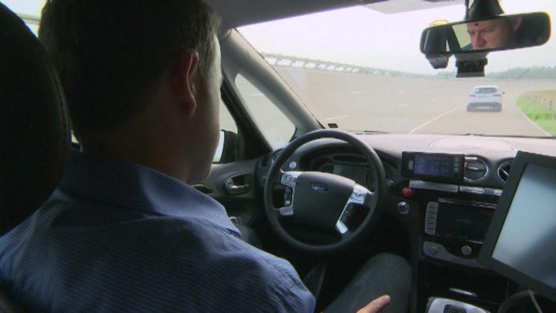 Düsseldorf soll Teststrecke für selbstfahrende Autos bekommen (Foto: SAT.1 NRW)