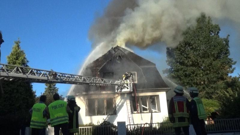 Brand in Viersen durch technischen Defekt (Foto: Sascha Rixkens)