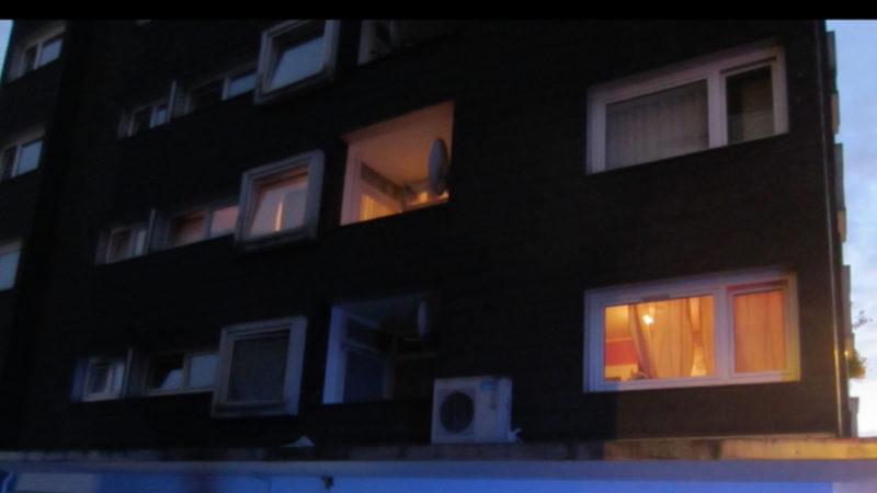 Kind fällt aus Fenster (Foto: Feuerwehr Münster)