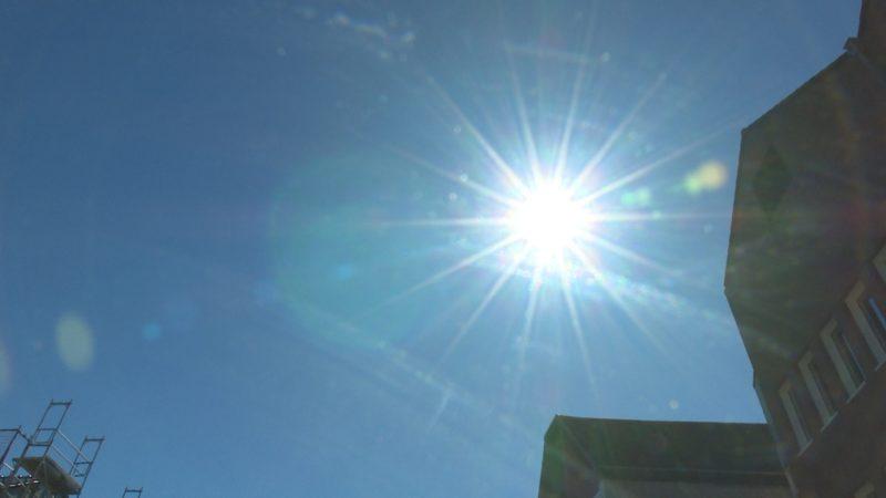 Wir sorgen für Abkühlung (Foto: SAT.1 NRW)