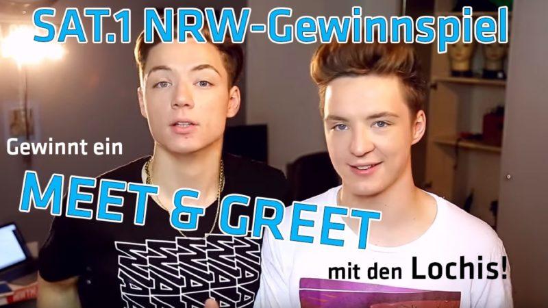 Meet & Greet mit den Lochis gewinnen! (Foto: SAT.1 NRW)