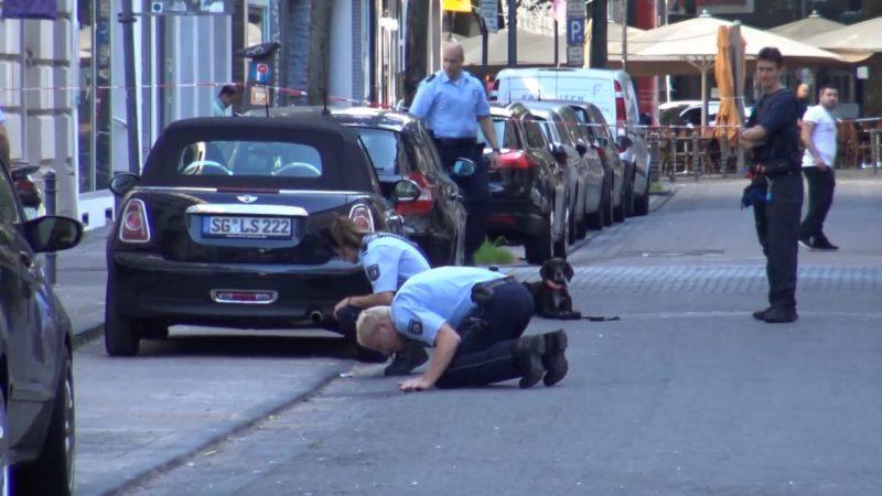 Blutige Auseinandersetzung in Köln (Foto: SAT.1 NRW)