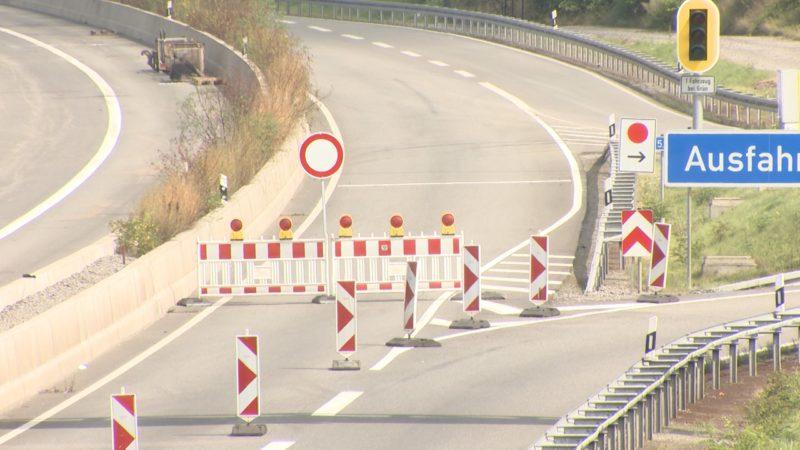 Autobahnen im Revier gesperrt (Foto: SAT.1 NRW)