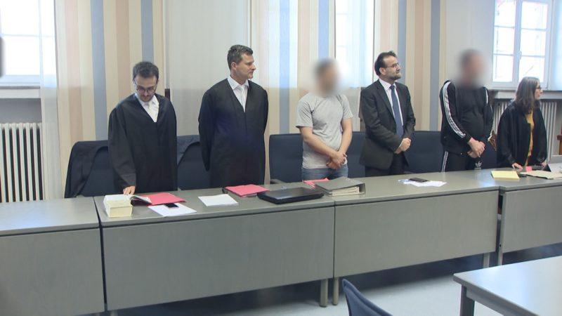 Klaubande vor Gericht (Foto: SAT.1 NRW)