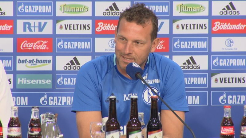 Schalke vor DFB Pokal (Foto: SAT.1 NRW)