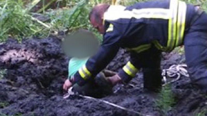 Junge gerettet (Foto: SAT.1 NRW)