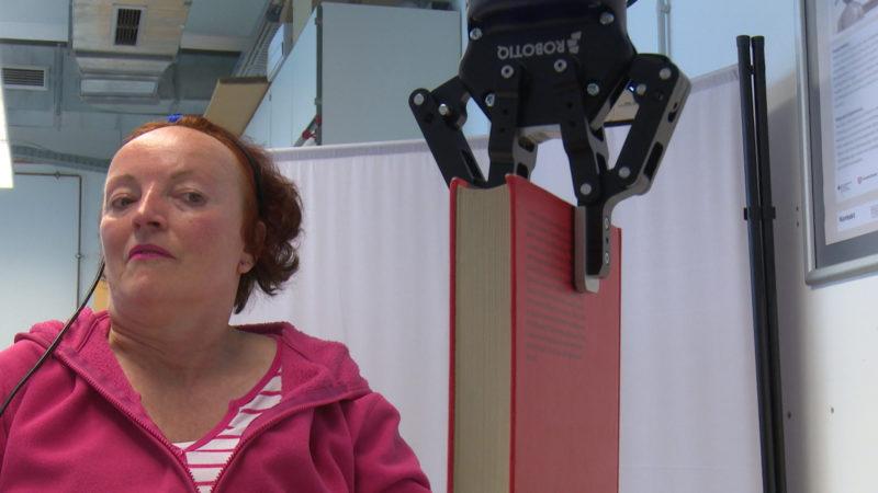 Roboter für Querschnittsgelähmten (Foto: SAT.1 NRW)