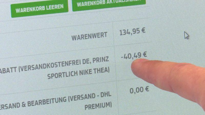 Preisvergleich: Internet oder Innenstadt? (Foto: SAT.1 NRW)