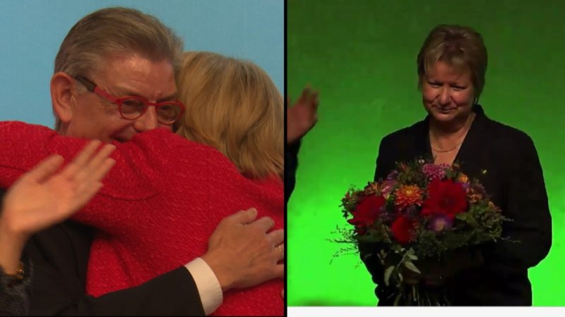 SPD Parteitag endet in Tränen (Foto: SAT.1 NRW)