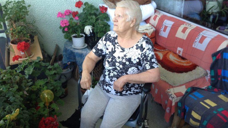 Rentnerin sitzt in Wohnung fest (Foto: SAT.1 NRW)