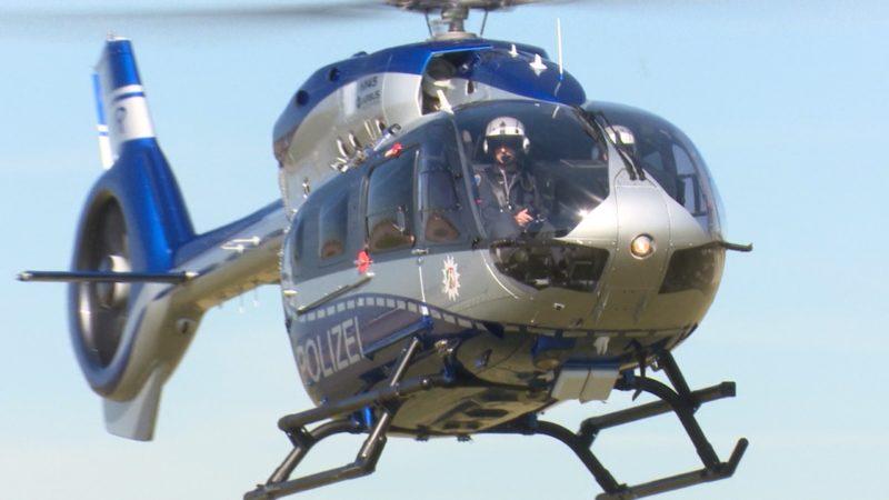 Neue Helikopter für NRW (Foto: SAT.1 NRW)