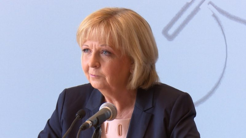 Hannelore Kraft kontert CSU Vorschläge (Foto: SAT.1 NRW)