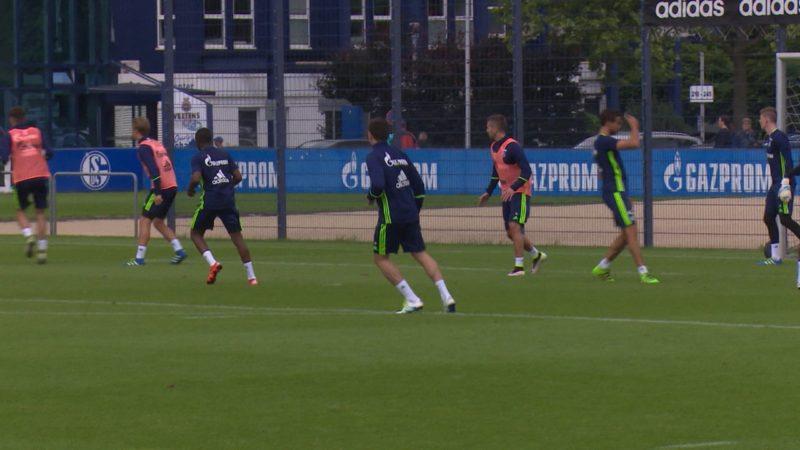 Deutschkurs für Schalke-Spieler (Foto: SAT.1 NRW)