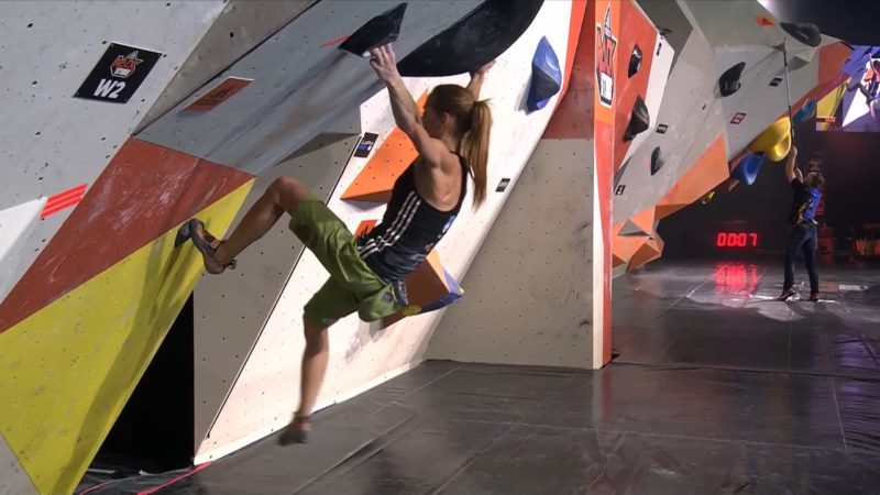 Kölner wird Zweiter bei Kletter-Event (Foto: SAT.1 NRW)