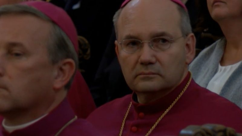 Neuer Bischof in Aachen (Foto: SAT.1 NRW)