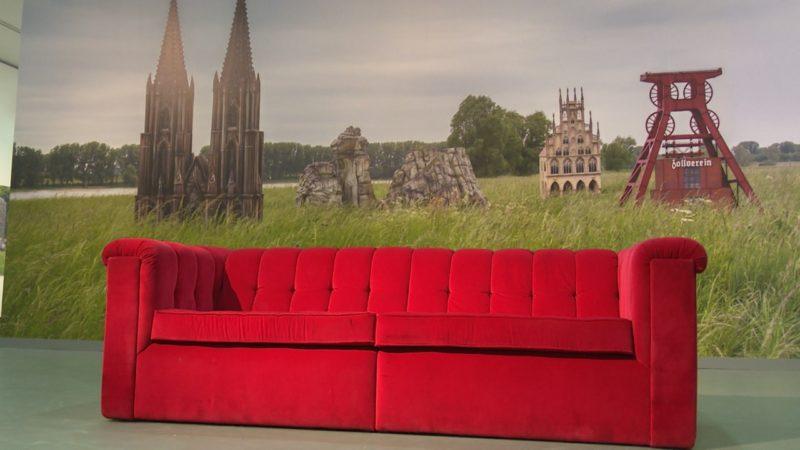 Berühmteste Sofa NRWs (Foto: SAT.1 NRW)