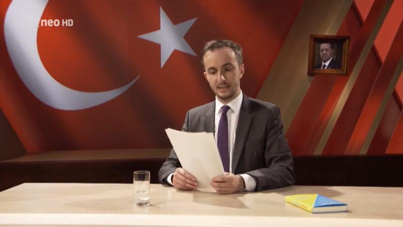 Böhmermanns Stellungnahme (Foto: ZDF Neo)