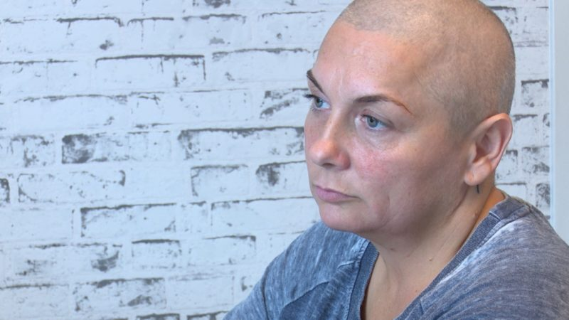 Michaela beendet Chemotherapie (Foto: SAT.1 NRW)