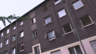 Roma-Haus geräumt (Foto: SAT.1 NRW)