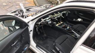 Autos komplett ausgeschlachtet (Foto: SAT.1 NRW)