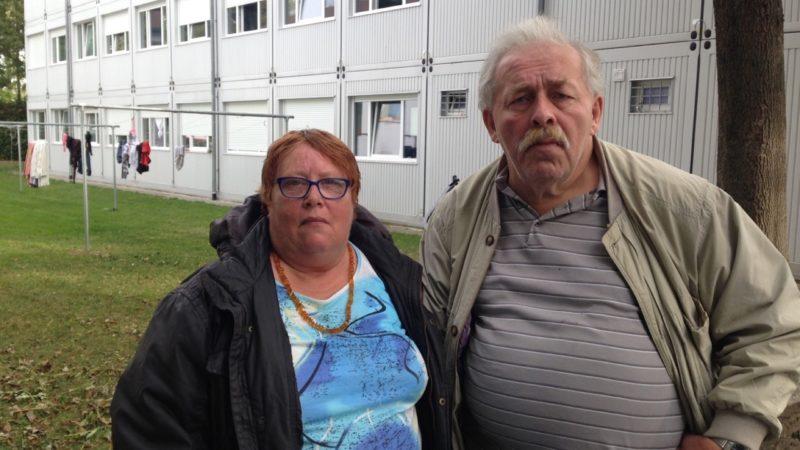 Ehepaar lebt in Flüchtlingsheim (Foto: SAT.1 NRW)