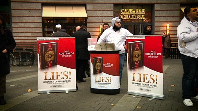 """NRW will """"Lies!""""-Aktionen Verbieten (Foto: SAT.1 NRW)"""