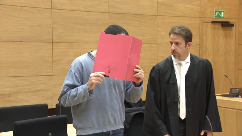 Prozess: Frau niedergestochen (Foto: SAT.1 NRW)