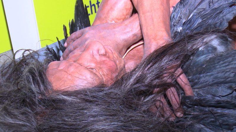 Neanderthaler in Mettmann (Foto: SAT.1 NRW)