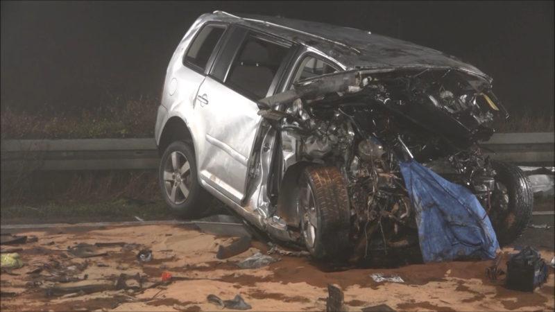 Unfall auf A33 (Foto: NonStopNews)