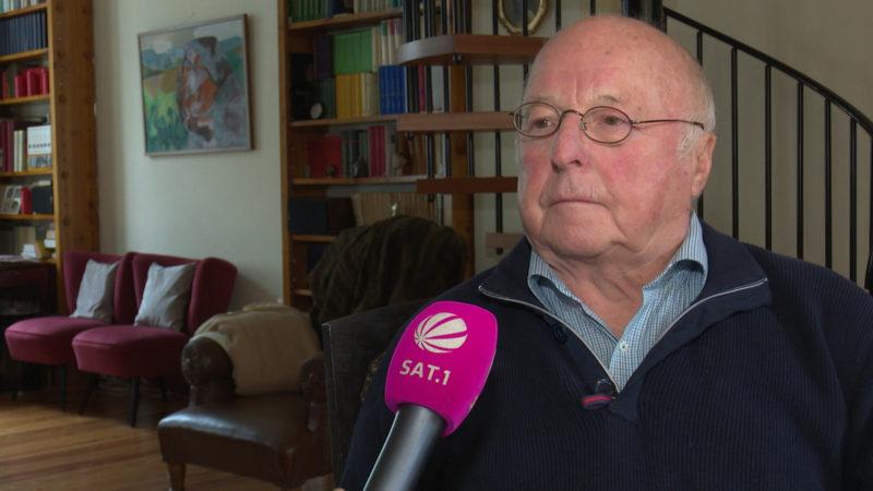 Norbert Blüm spricht Klartext über Trump und uns (Foto: SAT.1 NRW)