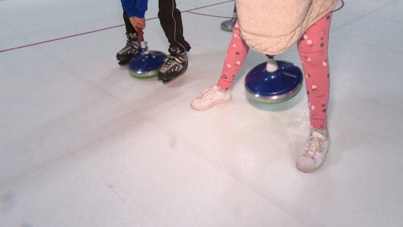 Schlittschuhlaufen ohne Eis (Foto: SAT.1 NRW)