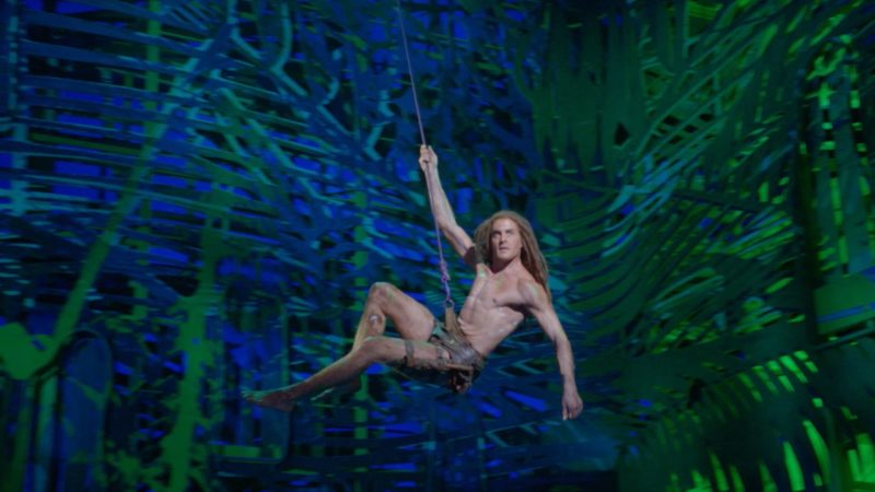 Tarzan in Oberhausen (Foto: SAT.1 NRW)