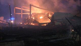 Brand auf Erlebnishof (Foto: Telenews Network)