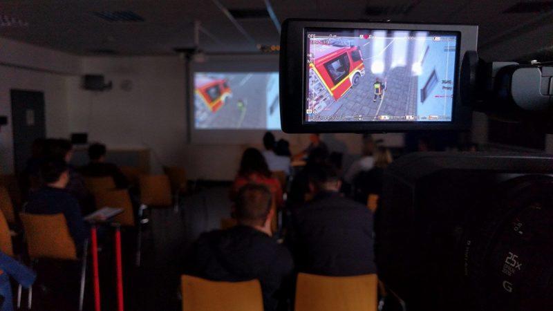 NRWs Feuerwehr als Videospiel (Foto: SAT.1 NRW)