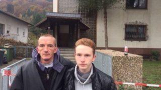14-Jähriger rettet 13 Menschen aus Feuerhaus (Foto: SAT.1 NRW)