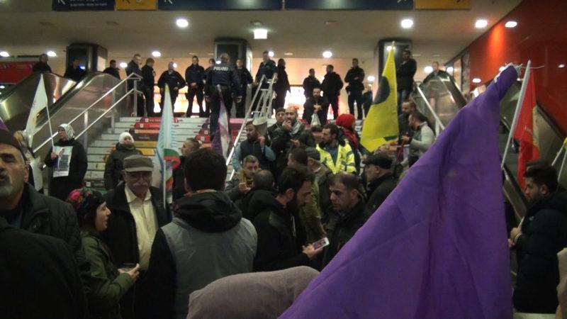 Kurden demonstrieren gegen Erdogan (Foto: SAT.1 NRW)
