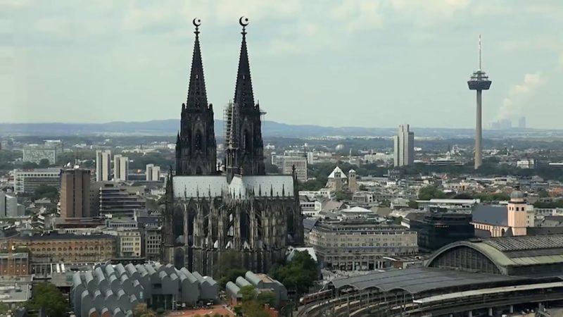 Kölner Stadtführer protestieren (Foto: Youtube)